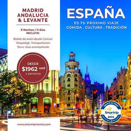 MADRID ANDALUCIA & LEVANTE - SEPTIEMBRE