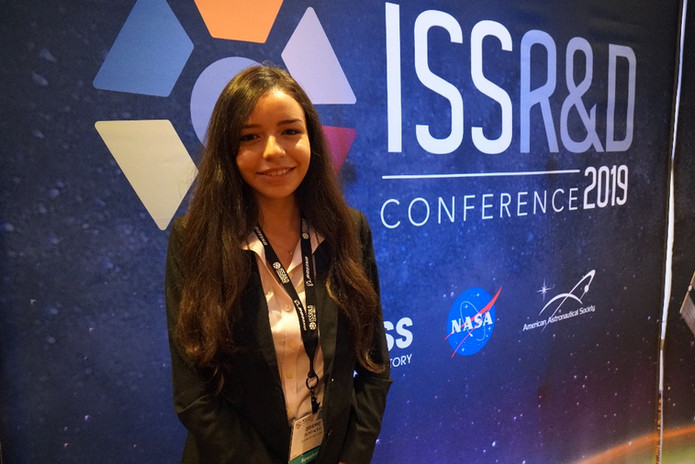 International Space Station Research and Development Conference 2019, Deidre Morales, Panelist