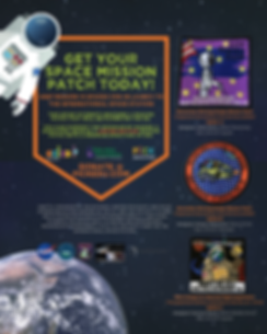 SSEP Funding Flyer & Order Mission Patch