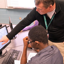 Brain Tracing with OC Techs student and Osborne.JPG