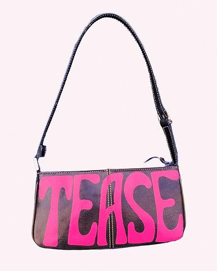 'Tease' Hot Pink Genuine Leather Bag