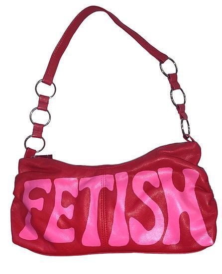 Fetish Hand Painted Shoulder Bag