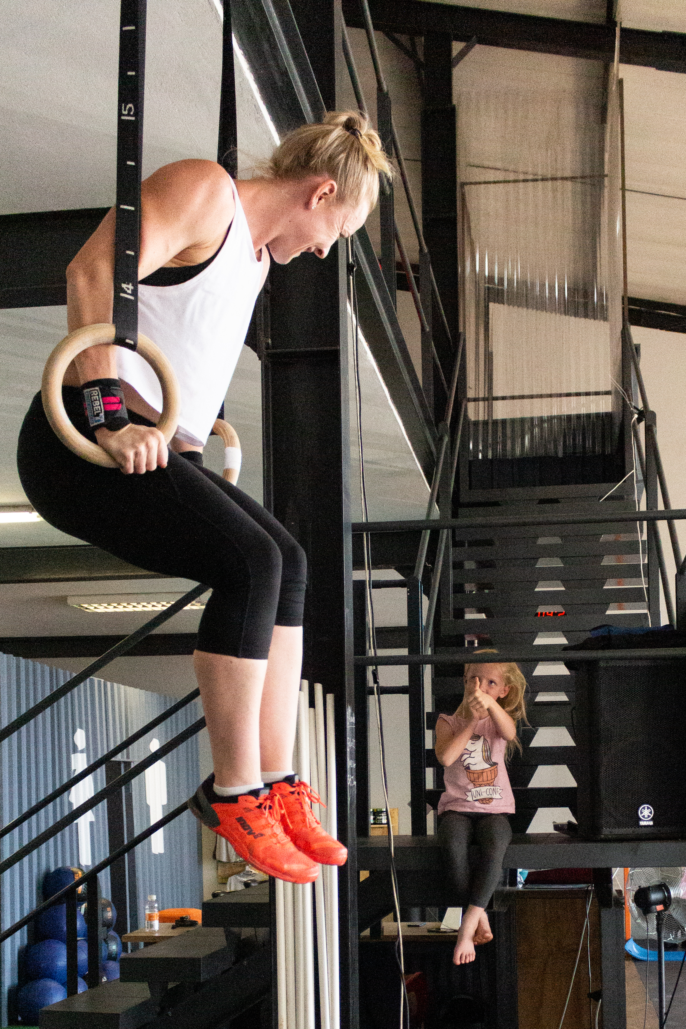 ring row, muscle up, crossfit