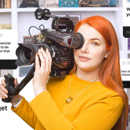 "Criadora de conteúdo do YouTube ""Cherry Wallis"" usa DaVinci Resolve"