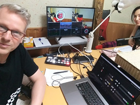 """Programa de Jogos Interativos """"Quizuna"""" do YouTube utiliza ATEM Mini Pro para Streaming Ao Vivo"""