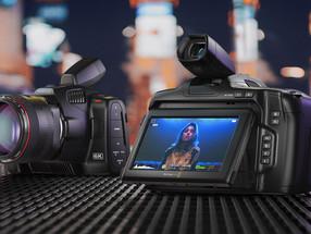 Blackmagic Design Anuncia Nova Blackmagic Pocket Cinema Camera 6K Pro