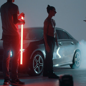 Conteúdo da Mercedes-AMG filmado com a Pocket Cinema Camera 6K