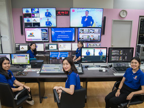Universidade de Chulalongkorn usa Blackmagic Design para Aulas Online e Streaming