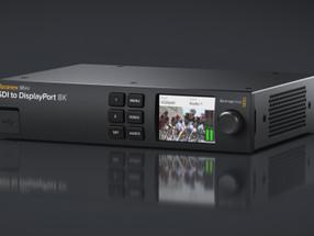 Blackmagic Design Anuncia Novo Teranex Mini SDI to DisplayPort 8K HDR