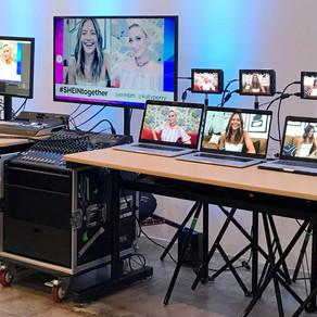 Evento 'SHEIN Together' é transmitido ao vivo via Streaming com Blackmagic Design