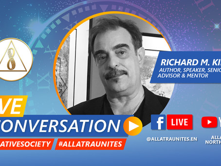 Live Interview on ALLATRA TV Thurs. Nov. 12, 11 AM EST