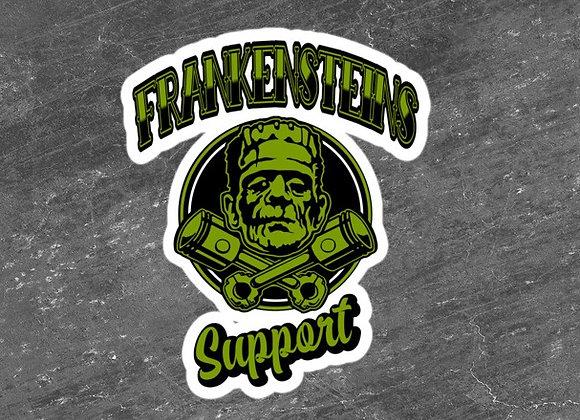 Frankensteins Support Stickers