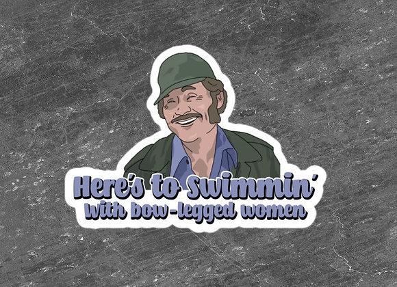 Bow-Legged Women Stickers