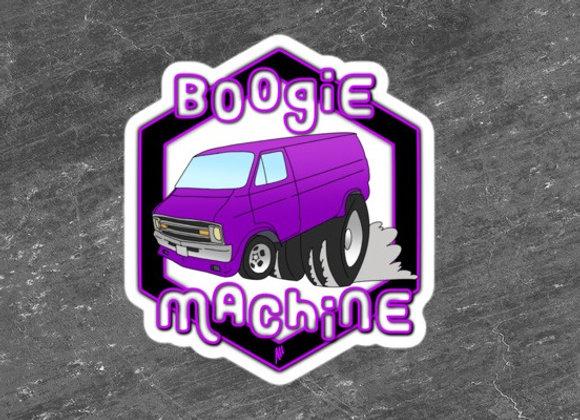 Boogie Machine Stickers #2