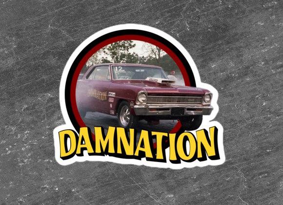 Damnation Stickers