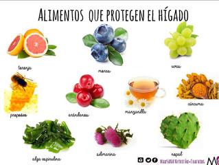 Alimentos que cuidan al hígado