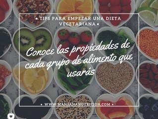Los sí de la dieta vegetariana.