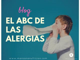 El ABC de las alergias.