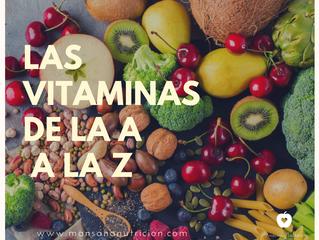 Vitaminas de la A a la Z