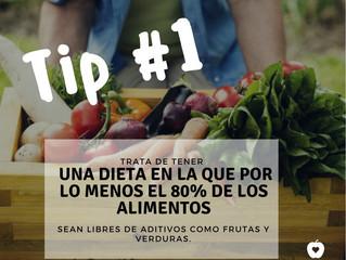 Tips para no comer aditivos y químicos.