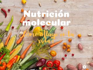 La Nutrición molecular o cómo los alimentos influyen en tu vida.