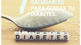 Autocuida tu diabetes en 7 pasos.