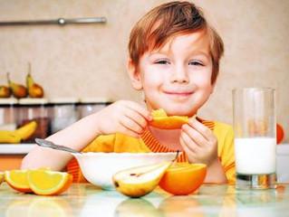 Tips de alimentación para niños
