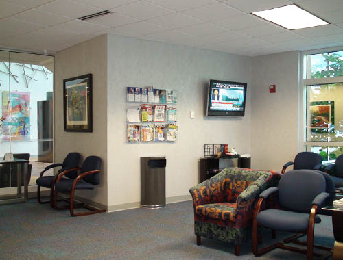 Guest waiting room