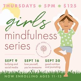 Girls' Mindfulness Series | September
