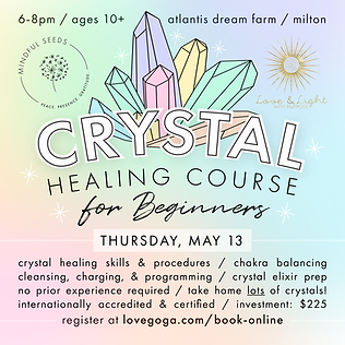 Crystal Healing Course for Beginners