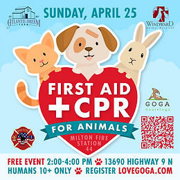First Aid & CPR for Animals Seminar