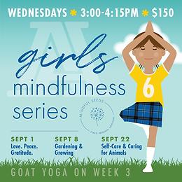 6th Grade Girls' Mindfulness Series
