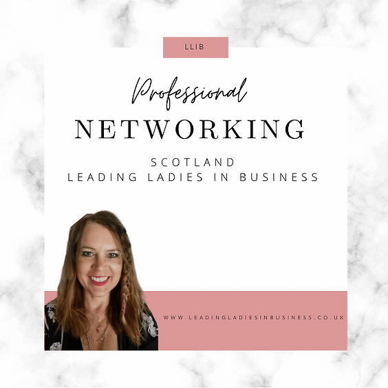 Leading Ladies In Business Networking Scotland