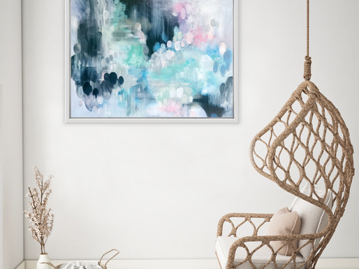 Creating Calm in your home with artwork