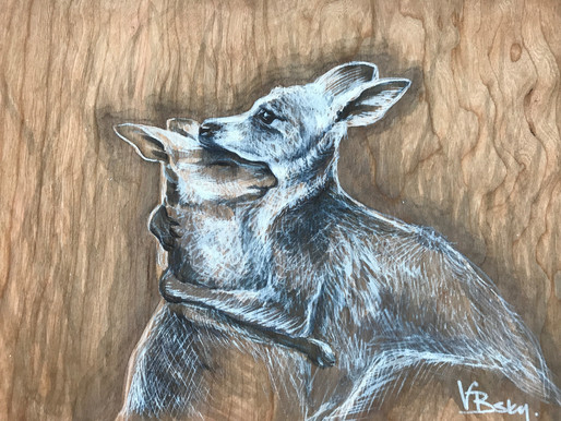 Charity art auction for wildlife