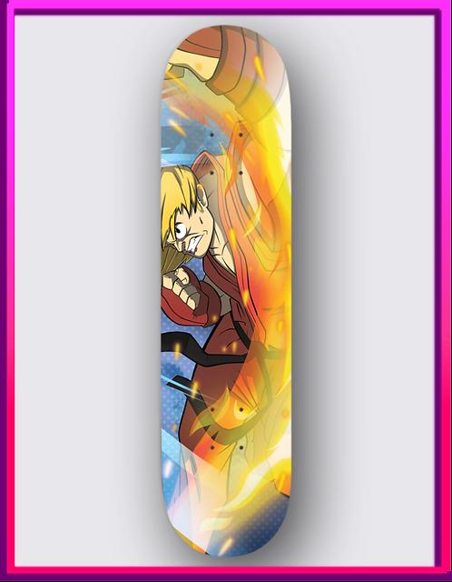 Ken Skateboard Deck