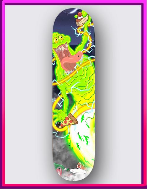Slimer Skateboard Deck