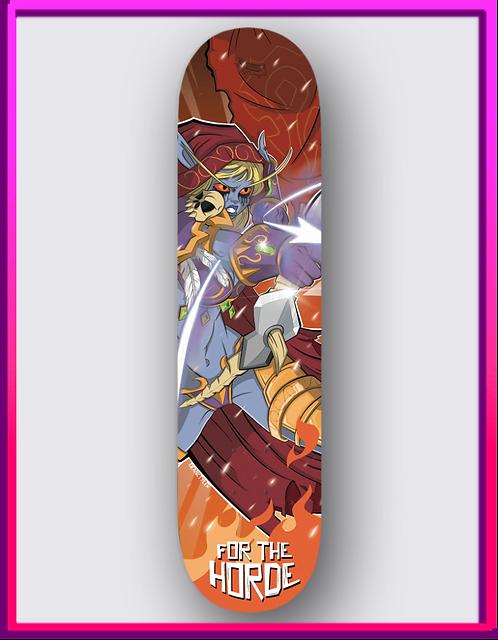 Sylvanas Skateboard Deck