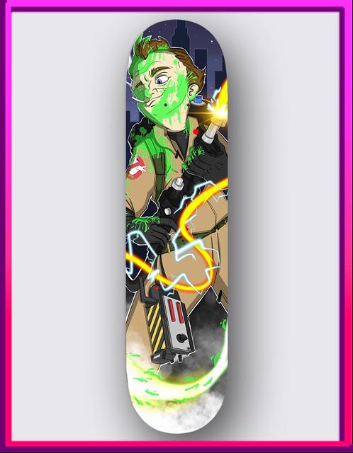 Venkman Skateboard Deck