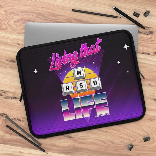 Living that WASD life laptop case