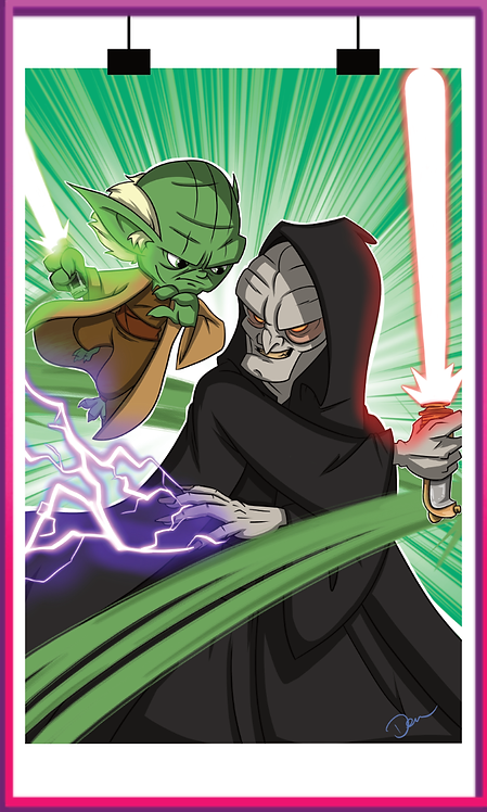Yoda & Sidious