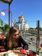Moscow summer terrace