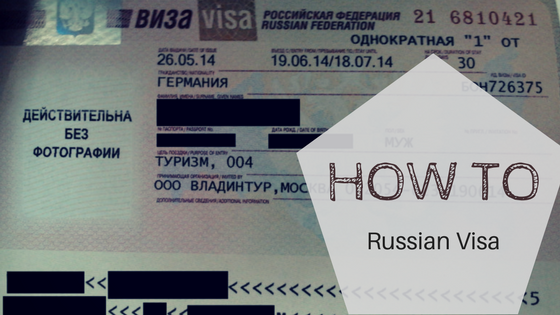 How to apply for Russian visa