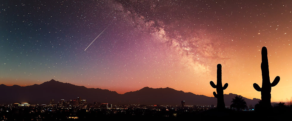 Phoenix Sunset with Milky Way galaxy.jpg