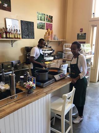 Pasta, Wine & Ethiopian Hospitality!