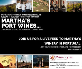 Connecting LIVE with Martha's in Portugal!