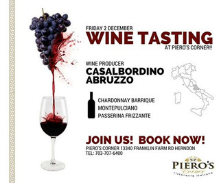 Join us at Piero's Corner!