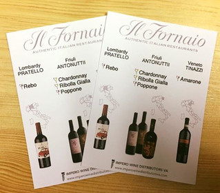 Il Forniao...a perfect place for excellent food & wine!