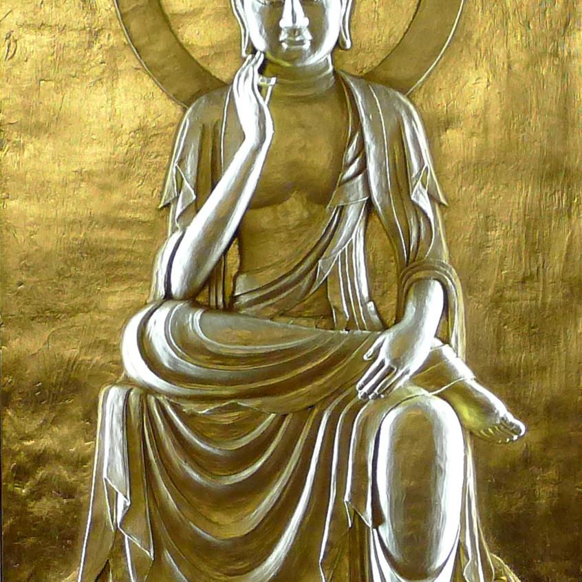 法蔵菩薩像(石川恵観作)