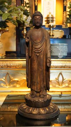 阿弥陀仏(増野家:寄贈、石川恵観:修復)